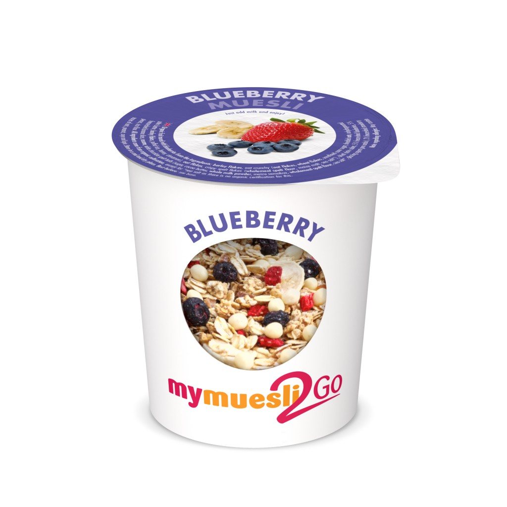 Mymuesli, Blueberry-2go,